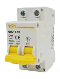 Interruttore magnetotermico automatico 2P+N 6 kA 2 modulo 10 16 20 25 32A fino 63 ampere