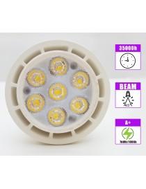 Faretto MR16 7 watt led smd faro 12V lampadina incasso per portafaretti