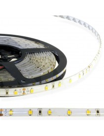 strip led 24v 2835 smd ip65 kit completo trasformatore striscia 5 metri luce calda naturale e fredda strip 300 led