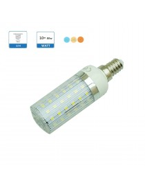 Lampadina led E14 10w mais luce bianca calda naturale illuminazione led