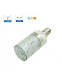 Lampadina led E14 6w mais luce bianca calda naturale illuminazione led