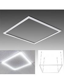 Pannello led telaio luminoso cornice 60x60 48W 5700 lm lampadario sospensione