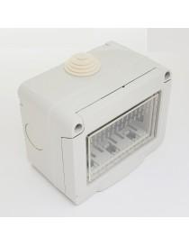 Cassetta esterna idrobox compatibile Vimar plana IP55 scatola placca 2 3 posti
