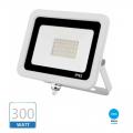 Faro esterno ip65 300W led smd faretto slim bianco 6500k con valvola fuga condensa