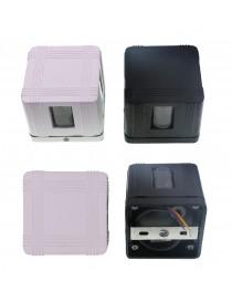 Applique cubo 4 fasci luce G9 illuminazione impermeabile IP65 box bianco nero
