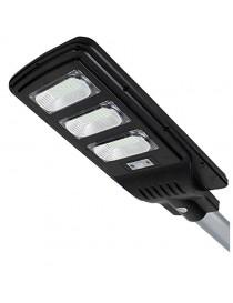 Lampione stradale led energia solare 60w crepuscolare faro esterno 6500k IP65