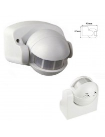 Sensore di movimento rilevatore di presenza accensione luci infrarossi con timer
