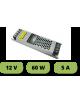 Trasformatore ultrasottile 12V 5A 60W alimentatore strip led 25mm