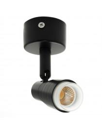 Faretto proiettore led 3W spot orientabile nero luce vetrina soffitto negozio