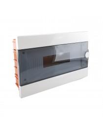 Quadro elettrico centralino 16 moduli DIN box incasso scatola IP40 interruttori