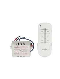 Telecomando luci wireless 3 canali switch remoto centralina 1000w