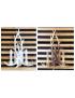 Applique da parete corna cervo in resina design country lampada muro rustico E14