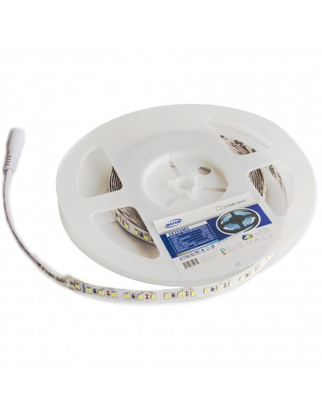 Striscia Led 2835 IP20 5 Metri 600 LED per interno Luce Calda Naturale e Fredda Mapam