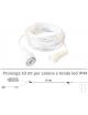Prolunga 10 mt per serie luci led catena e tenda natalizie da esterno impermeabile IP44