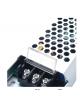 Trasformatore stabilizzato 24v 6.25A 150w slim sottile alimentatore in metallo per strip strisce led telecamere