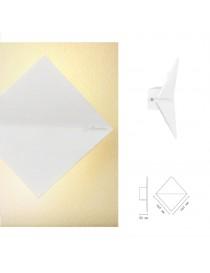 Applique da parete led 10w doppia luce rombo bianco moderno lampada per interno