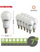 X10 lampadina led E14 bulbo A55 7w luce bianca naturale calda Mapam