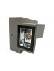 Lampada applique da parete Nero doppia luce led 10W per esterni IP55