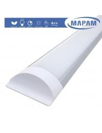Plafoniera led 24w 3T 60 cm lineare barra luminosa sottopensile luce bianco naturale calda