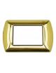 Placche Metallo compatibili Bticino Living International 3 4 7 posti vari colori per supporti LN4703 L4703