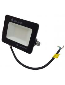 Faro led smd 30w proiettore IP65 da esterno faretto nero altà luminosità luce calda fredda metallo