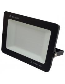 Faro led smd 100w proiettore IP65 da esterno faretto nero altà luminosità luce calda fredda metallo